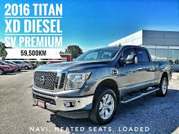 nissan titan ac compressor used 2016 nissan titan xd for sale cobourg on