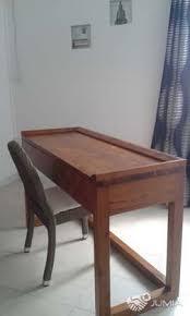 grand bureau en bois bureau en bois et chaise grand baie jumia