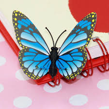 3d wall stickers butterfly fridge magnet wedding decoration home see larger image