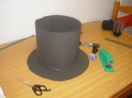 como hacer un sombrero de carton blog el rincón de los sueños cómo hacer la chistera del disfraz