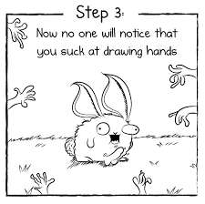 how to how to draw hands in three easy steps the oatmeal