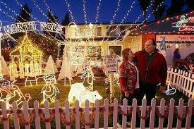 Pleasanton Christmas Lights Open The Gates To Widmer World U2013 East Bay Times
