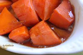 thanksgiving yams recipe a feast for the eyes candied sweet potatoes kicked up