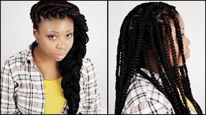 how many bags for big box braids big box braids start to finish in 6 minutes youtube