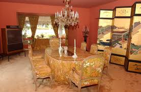 Hollywood Regency Dining Room by Liza Minnelli And Michael York Ride A Bike Love Bikes