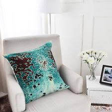 Metallic Cowhide Pillow Cowhide Pillow Ebay