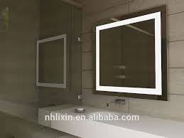Retractable Mirror Bathroom Retractable Bathroom Mirror Factory Direct Hotel Led Villa Light
