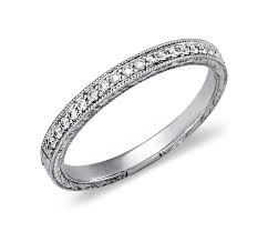 how much to engrave a ring engraved micropavé diamond ring in platinum 1 5 ct tw