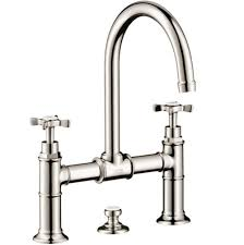 kitchen kitchen faucets bridge nickel tones russell hardware