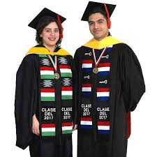 personalized graduation stoles hey graduates use personalized stoles to show pride in your