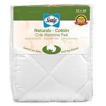 Sealy Naturalis Crib Mattress With Organic Cotton Sweetpea Chemical Free Coconut Crib Mattress Infant To Toddler