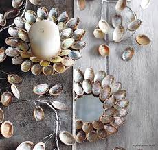 roost abalone shell candle plate garland e2 80 93 modish store