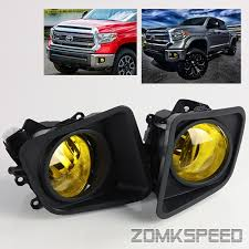 2016 toyota tundra fog light bulb for 2014 2016 toyota tundra yellow fog lights driving ls lh rh w