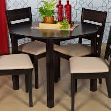 Dining Table Without Chairs Montoya Round Dining Table Without Chairs 4 Seater Dining