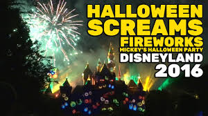 halloween screams fireworks full show opening night of mickey u0027s