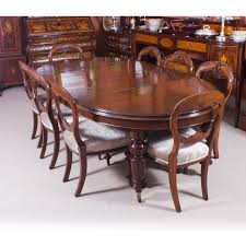 oval dining table for 8 antique victorian oval dining table 8 antique chairs 19th century