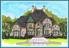 French Country Floor Plans Boyehomeplans French Country Style Plan Search