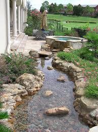 ten fresh river rock garden ideas