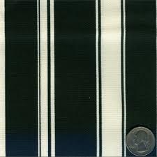 Striped Drapery Fabric 400430 Waverly Black Seafarer Stripe Drapery Fabric