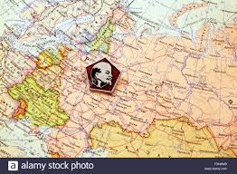 map of ussr lenin on the political map ussr 1953 stock photo royalty free