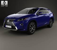 lexus rx 200t 2016 interior lexus rx 200t 2016 3d model hum3d