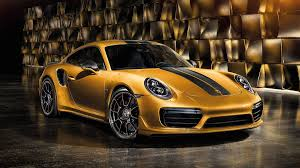 turbo porsche 911 here u0027s what makes the 2018 porsche 911 turbo s exclusive series so