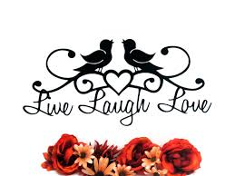 live laugh love signs 2014 outdoor decor ideas live laugh love metal sign outdoor wall