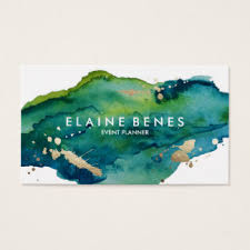 watercolor business cards business card printing zazzle co uk