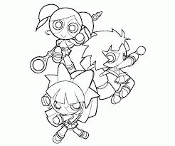 powerpuff girls z coloring pages aecost net aecost net