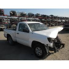 2003 Toyota Tacoma Interior 2010 Toyota Tacoma Parts Car White With Gray Interior 6 Cyl