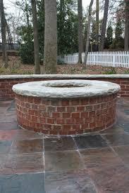 Firepit Brick Brick Pit Pit Ideas