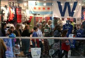 shoppers fill stores in woodfield mall on black friday chicago