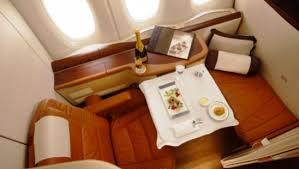 Credit Card Signs For Businesses Fly Amazing First Class Suite To Europe With Little More Than 1