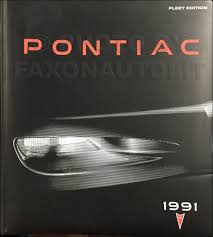 1991 pontiac grand am repair shop manual original