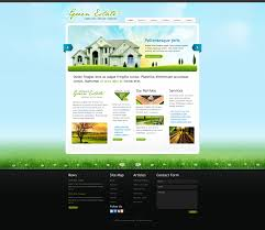 template 5 real estate website