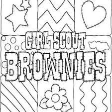 the most brilliant and also lovely scout brownie coloring