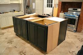 Installing A Kitchen Island Install Kitchen Island Installing New Kitchen Cabinets On Island