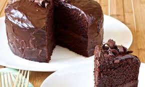 sweet potato chocolate vegan cake with chocolate sweets frosting