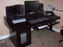 quiklok studio desk how to build recording studio furniture med art home design posters