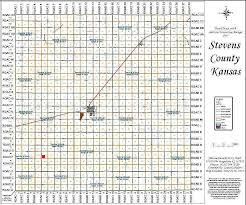 Map Of Counties In Kansas Stevens County Kansas Family History Research