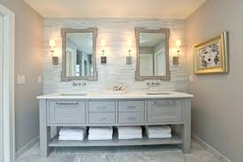 Bathroom Lighting Ideas For Vanity Farmhouse Bathroom Lighting Gorgeous Design Farmhouse Bathroom