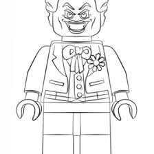 joker lego coloring kids drawing coloring pages marisa