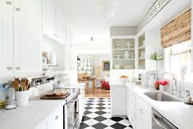 white kitchen flooring ideas black and white kitchen flooring morespoons 404456a18d65