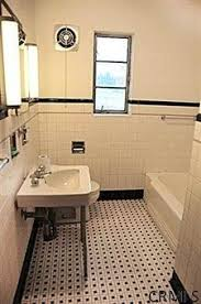 Images Of Vintage Bathrooms Elements Of A Vintage Bath Cove Molding Pedestal Sink Subway