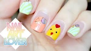 cute minions inspired nail design 超q的小黄鸡美甲 nail art lover