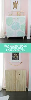 ivar hack ikea ivar cabinet hack turned into a bar cabinet a beautiful mess