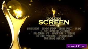videohive golden awards promo free after effects templates