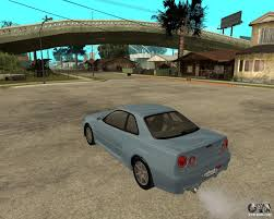 skyline nissan 2010 nissan skyline r 34 tunable for gta san andreas