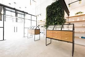 Interior Design Jobs Portland Oregon Serra Cannabis Dispensary Features Greenhouse Like Display Cases
