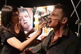 universal horror nights a make up kick off